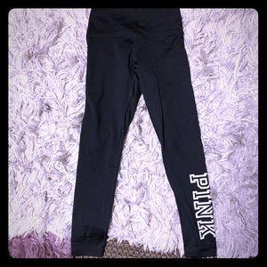 "PINK, ""Cozy"" line, fleece-lined leggings"